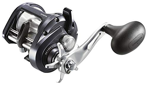 SHIMANO Tekota 501A Conventional Trolling Reel, Left Hand, Line Counter