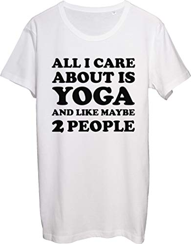 All I Care About is Yoga and Like Maybe 2 People - Camiseta para hombre