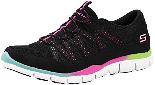Skechers Women's Gratis Strolling Black/Multi Sneakers 9 M US