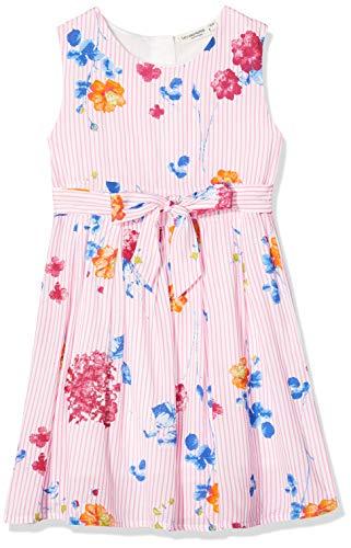 Salt & Pepper Mädchen 03133290 Kleid, Mehrfarbig (Original 099), (Herstellergröße: 104)
