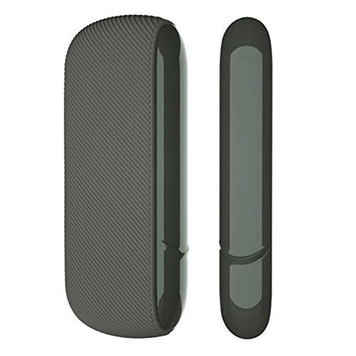 DrafTor E Zigarette Tasche, Koffer und Seitendeckel für I-Q-O-S 3.0, Silikon Zigarettenetui, Kratzfest und Stoßfest(H03)