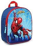 Marvel Spider-Man Mochila Infantil, 31 cm, 9 Liters, Azul (Blue)