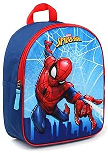 Marvel Spider-Man Zainetto per bambini, 31 cm, 9 liters, Blu (Blue)