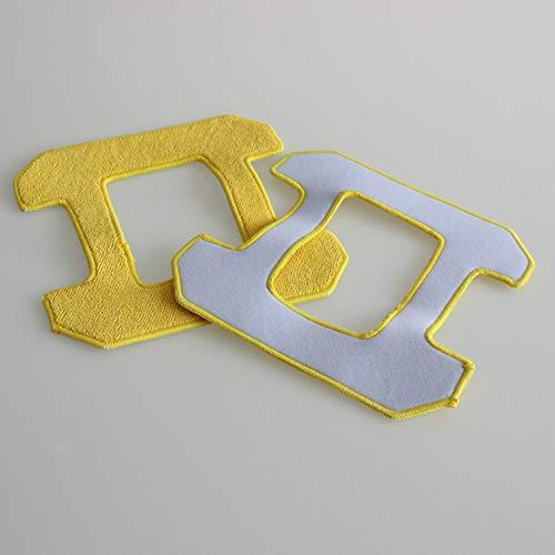 Meijunter 5PCS Fregonaping Almohadilla Pad Kit para Hobot 268 Ventana Limpieza Robot, Reemplazo Microfiber Húmedo Limpieza Rubbing Fregona Mat Kit