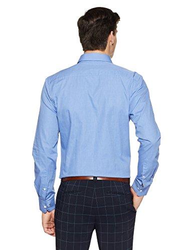Raymond Men's Plain Slim Fit Formal Shirt