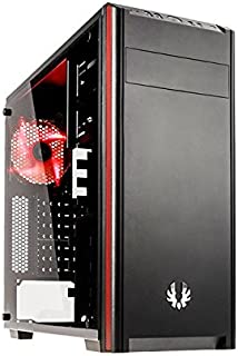 BitFenix Nova TG Negro - Caja de ordenador (PC, De plástico, Acero, Vidrio templado, Negro, ATX,Micro ATX,Mini-ITX, Juego, 16 cm)