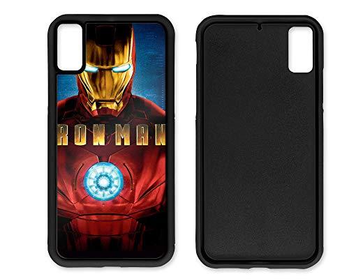 blitzversand 2D Handyhülle Avengers END Game kompatibel für Samsung Galaxy A3-2016 Iron Man Schutz Hülle Case Bumper Rubber rund um Schutz Cartoon M5