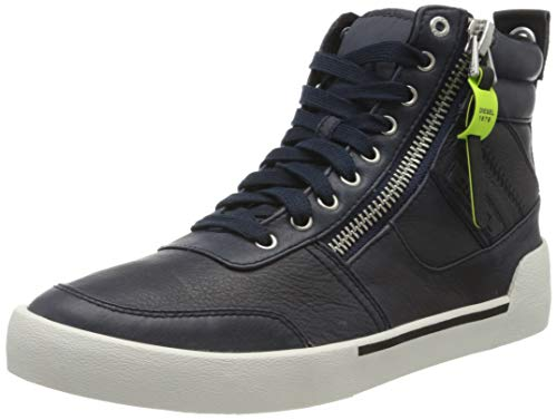 Diesel Herren D-Velows Sneaker, Blau (Blue Nights T6065-Pr013), 39 EU