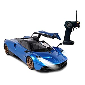 1: 14 Scale Radio Controlled Pagani Huayra (RC) - Colors Vary (Red/Blue) - 41v7fsS4CML - 1: 14 Scale Radio Controlled Pagani Huayra (RC) – Colors Vary (Red/Blue)