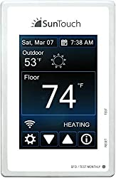 SunTouch Connect Wi-Fi enabled Touchscreen Programmable Thermostat