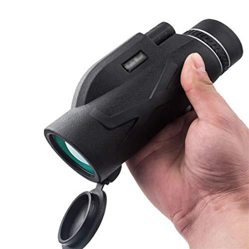 Alta definizione Telescopio profesional de la visión nocturna HD 80x100 monocular zoom óptico monóculo catalejo for la caza del alcance del rifle de francotirador manchado para Camping Viajar