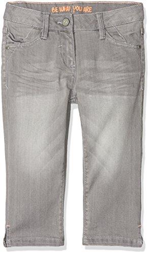 s.Oliver s.Oliver Mädchen 66.803.72.8966 Shorts, Grau (Grey/Black Denim Stretch 95z2), 146 (Herstellergröße: 146/REG)