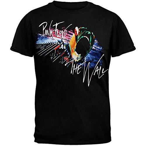 FEA Men's Pink Floyd Marching T-Shirt, Black, XX-Large