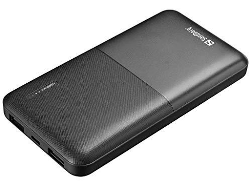 Sandberg Saver Powerbank 10000 - Baterías externas (Negro, Universal, Rectángulo, Polímero de Litio, 10000 mAh, USB)