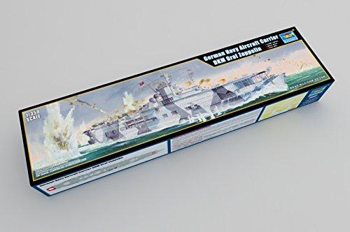 Trumpeter 05627 Modellbausatz German Navy Aircraft Carrier DKM GRAF Zeppelin