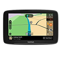 Top-Class TomTom Traffic: Time-saving traffic congestion avoidance, with trusted arrival times backed by comprehensive traffic information and real-time updates, all via your TomTom Go Comfort GPS 3-month safety camera alerts: Stay updated, under the...