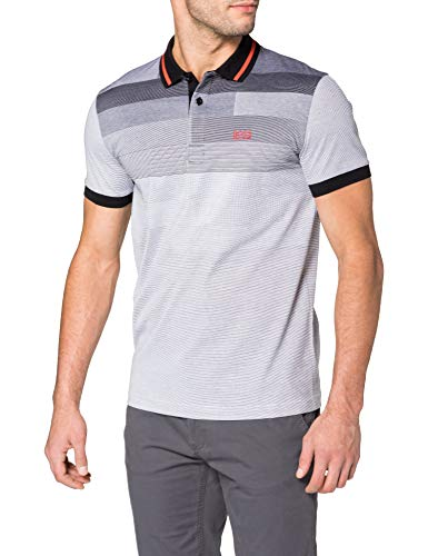 BOSS Paddy 4 10234067 01 Camisa de Polo, Negro1, XXL para Hombre