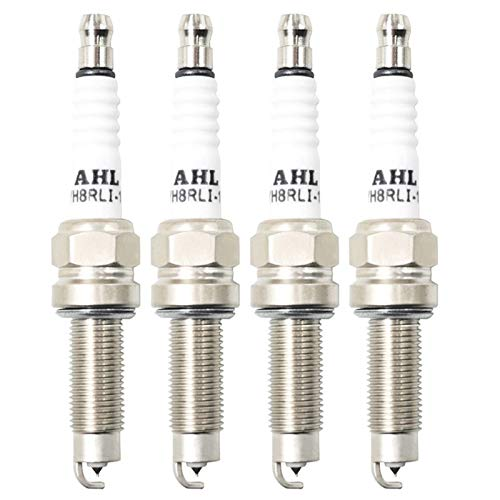 KUANGQIANWEI Spark Plug Automobile Motorcycle Ignition Spark Plug Fit for YH8R8LC YH8R8LI-11 LMAR6A-9 LMAR7A-9 LMAR8A-9 LMAR8A-9S LMAR7G LMAR8G LMAR9G (Color : 4Pcs Iridium)