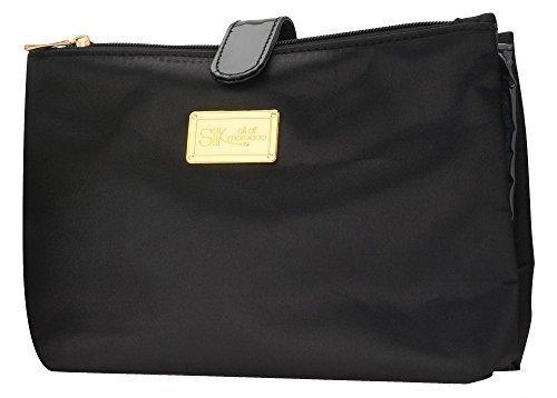 Silk Oil of Morocco-Borsa da viaggio, colore: nero-Beauty-Case/Cosmetic Bag, Borsa da viaggio Luxury-Borsa trousse con finitura satinata