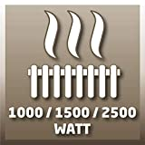 Einhell Ölradiator MR 1125/2 (bis 2500 Watt, 3 Heizstufen, stufenloser Thermostatregler, fahrbar, Kipp- und Überhitzungsschutz, Betriebsanzeige) - 8