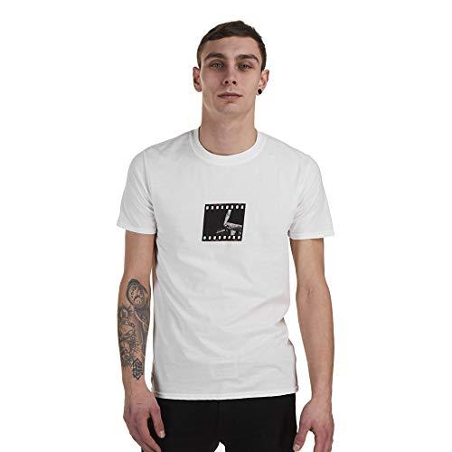 Zoo York Herren 35mm T-Shirt, Weiß (White Wht), X-Large