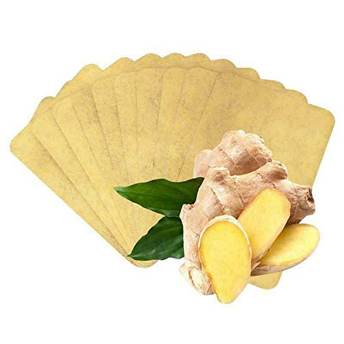 Ginger Patch Pads 10PCS/50PCS,Mamum Amazing Herbal Ginger Patch Anti-Swelling Herbal 10PCS/50PCS (10PCS)
