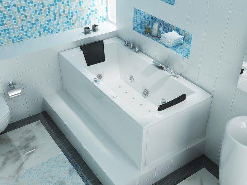Luxus Whirlpool Badewanne 182×90 im Vollausstattung (Massage) – Sonderaktion - 4