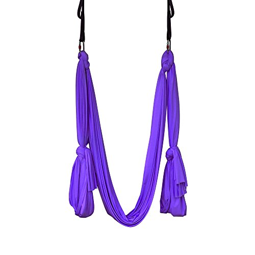Silk 4th anniversary gifts for him if he's into aerial yoga.