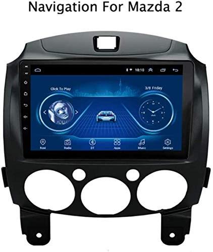 YDD Android 8.1 DVD del Coche de 9 Pulgadas Mazda 2 /...