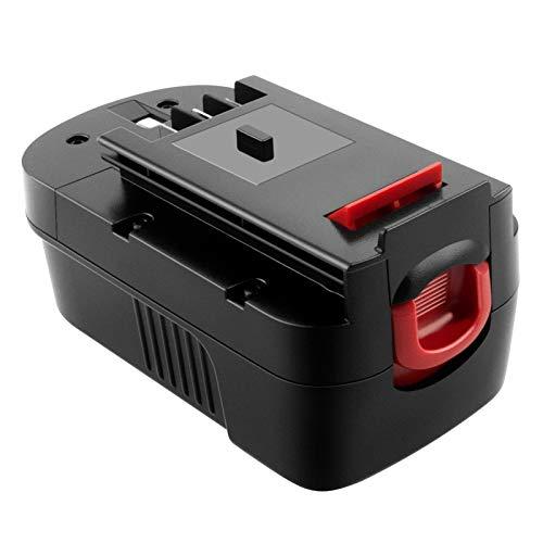 ADVNOVO 18V 3.5Ah Ni-MH Batería de Reemplazo para Black Decker 18V HPB18 HPB18-OPE A18 A1718 244760-00 A18NH A18E Firestorm FSB18