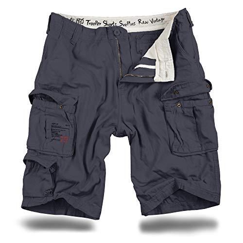 Trooper Cargo Shorts Lightning Edition - anthrazit XL