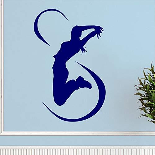 Tianpengyuanshuai Vinilos Decorativos vinilos Decorativos Deportivos Vinilos Decorativos Deportivos Sala de Fitness Mural del Club de Fitness 50X54cm