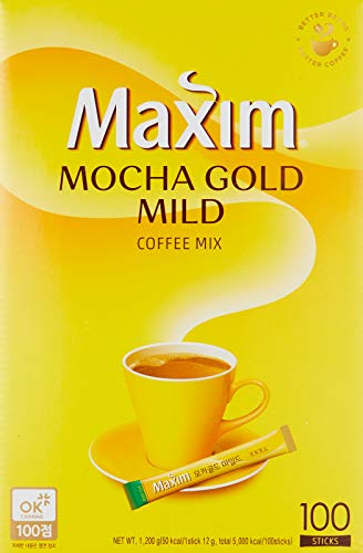 Maxim Mocha Gold Korean Instant Coffee