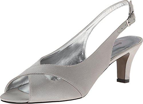 David Tate Women's Palm Shoe,Silver,5.5 B(M) US