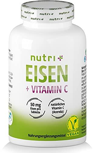 Nutrition-Plus Germany -  Eisentabletten 50mg