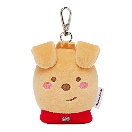 KAKAO FRIENDS - Draagbare navullingen Huisdier hond Poop Bag Case Dispensers Houder Leuke Karakter Incl. Wegwerp Plastic Tas, Frodo