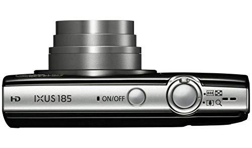 Canon IXUS 185 20MP 8x Zoom Kompaktkamera Bundle