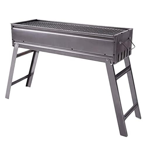 N\C Griglia per Barbecue a Carbone per Famiglie, griglia per Barbecue addensata Pieghevole...