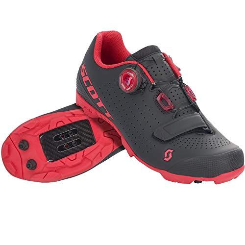 Scott MTB Vertec 2020 - Zapatillas de ciclismo para mujer, talla 40, color negro y rojo