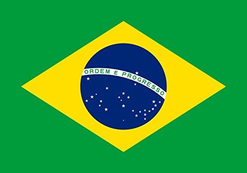 magFlags Drapeau XL+ Brésil | Drapeau Paysage | 2.4m² | 120x200cm