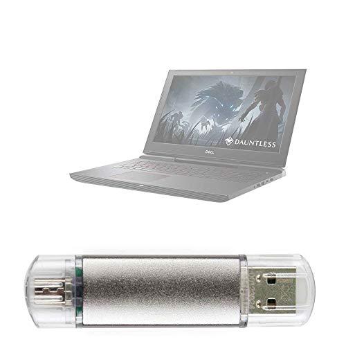 DURAGADGET Pendrive USB 2.0 con conexión USB y Micro USB - 16...