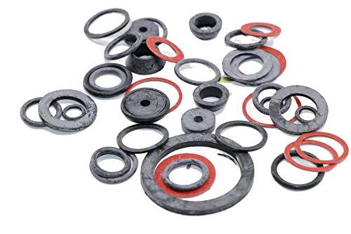 RMB 40er Set Dichtungen O-Ringe für Wasserhahn, Boiler, Pumpen, Schläuche