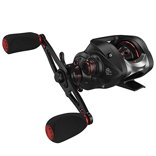 Magreel Baitcasting Fishing Reel, High Speed 7.0:1 Gear Ratio Baitcaster Reel with Magnetic Braking System, Super Smooth 9+1 Stainless Steel Ball Bearings