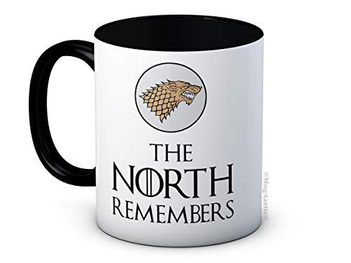 The North Remembers - Stark Sigil - Game of Thrones - Hochwertigen Kaffeetasse Becher