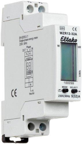 Eltako WZR12-32A Wechselstromzähler mit Reset ohne Zulassung