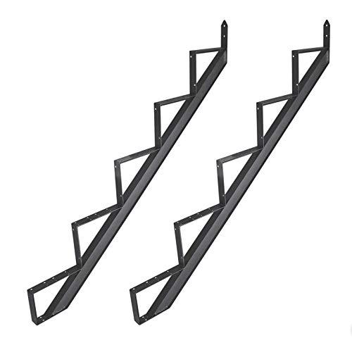 2-6 Stufen Alu Treppenrahmen