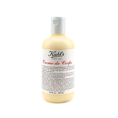 Kiehl's Creme de Corps Körper-Feuchtigkeitscreme - Flasche, Mittlere Größe 8.4oz (250ml)