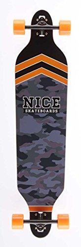 Nice General Longboard Mixte Adulte, Multicolore, 9,5\