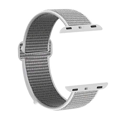 Design elegante e semplice: lo stile pratico con caratteristiche leggere e confortevoli lo rendono il miglior cinturino di ricambio per la serie di orologi Apple 1/2/3/4. Colori vivaci rendono il tuo orologio speciale e accattivante. Perfetto per l'u...