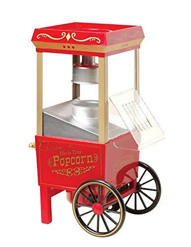 Great Features Of JIAWBMH Popcorn Machine Retro American Home Air Popcorn Machine Mini Home Popcorn ...